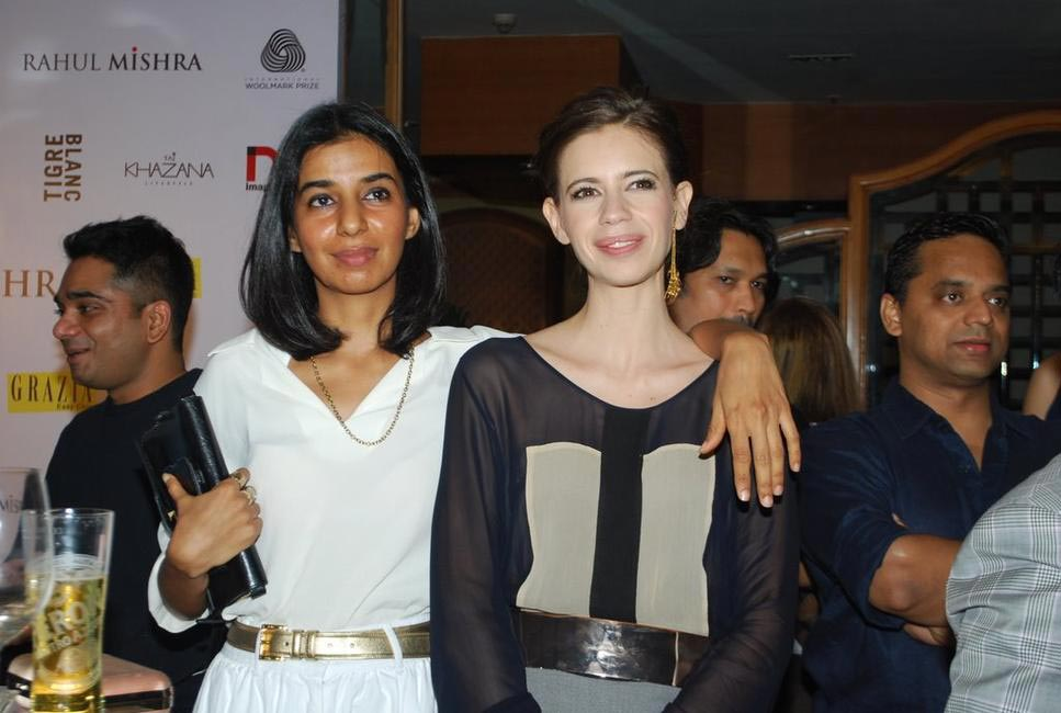 Grazia's Ekta Rajani and Kalki Koechlin strike a pose