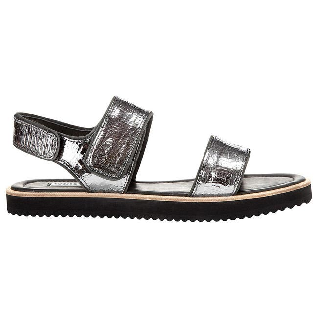 Holy Flatform Sandals in Pewter, Whistles