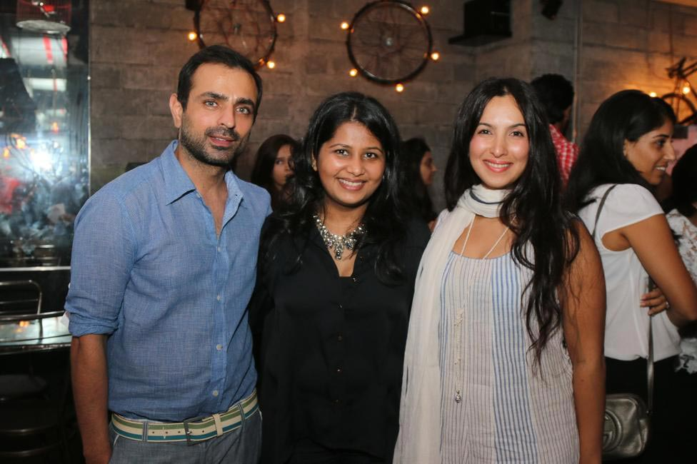 (L-R) Mayank, Radhika Dhawan - Fashionably Connected, Shraddha