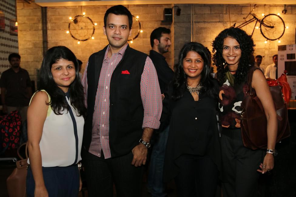 (L-R) Mehernaz Dhondy, Nachiket Barve, Radhika Dhawan- Fashionably Connected and Aparna Badlani