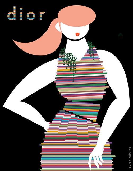 Lauren Rolwing Diors SS 2014
