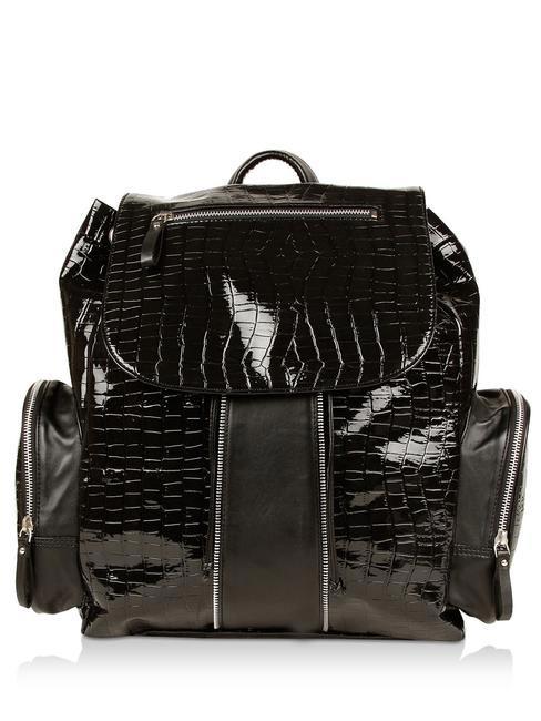 Leather backpack, koovs.com