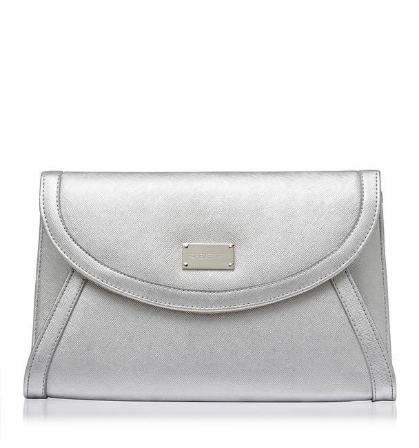 Leather clutch, Forever New