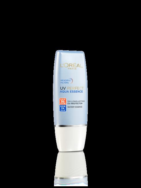 L'OREAL PARIS UV Perfect Aqua Essence sunscreen with SPF 30 PA+++, Rs 475