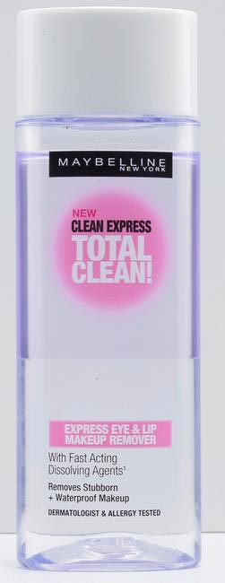 MAYBELLINE NEW YORK Clean Express Total Clean make-up remover, Rs 275