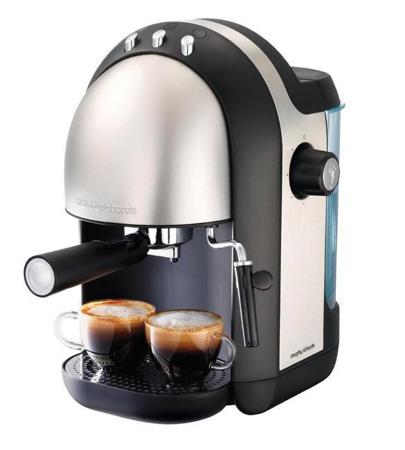 Morphy Richards Meno 47580 Espresso Brushed 15 Bar Coffee Maker, Rs 5,599 @amazon.in