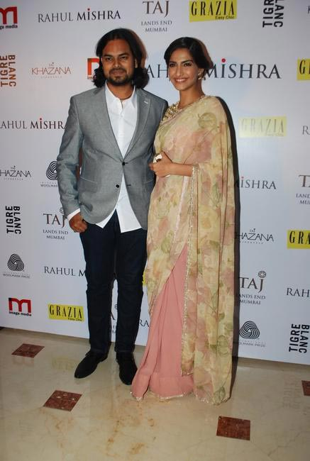 Sonam Kapoor lends her support to Rahul Mishra and his unique design philosophy
