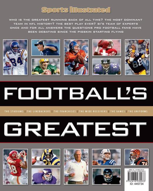 Sports Illustrated Football�??s Greatest (hard cover edition), Rs 1,300 approx @amazon.in