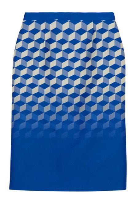 Antonio Berardi Jacquard pencil skirt - Net-a-porter.com