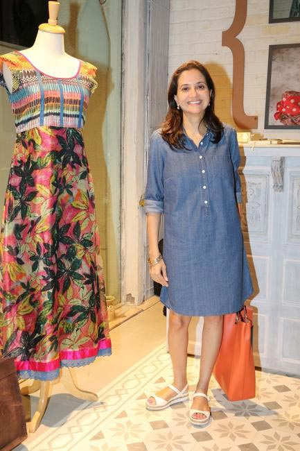 Anupama Chopra at Priyadarshini Rao's Spring Summer Collection Launch at her store