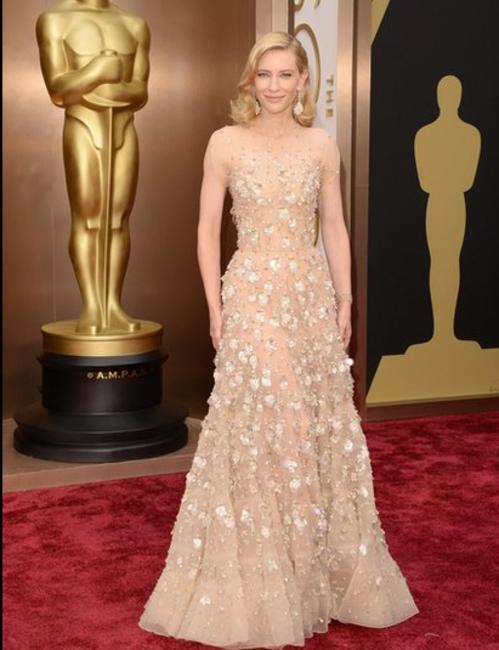 Cate Blanchett in Giorgio Armani - Oscars 2014