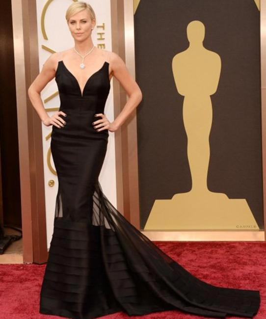 Charlize Theron  in Dior- Oscars 2014