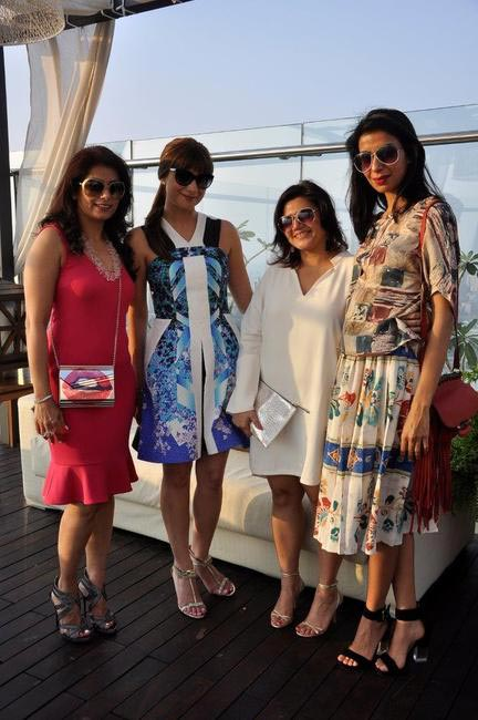 Deepika Gehani, Michelle Poonawalla, Grazia's Rituparna Som and Ekta Rajani