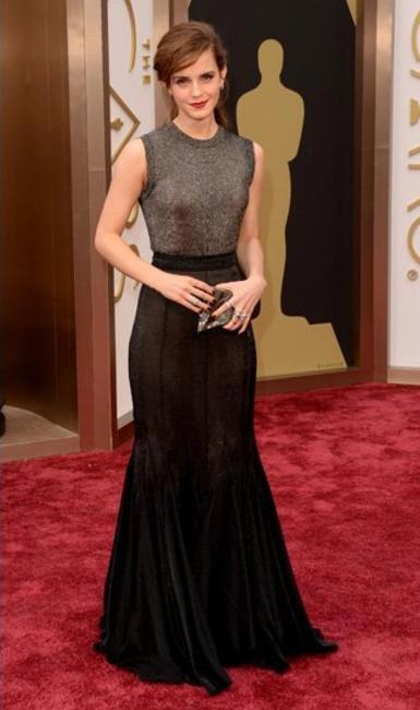 Emma Watson chose Vera Wang for The Oscars 2014