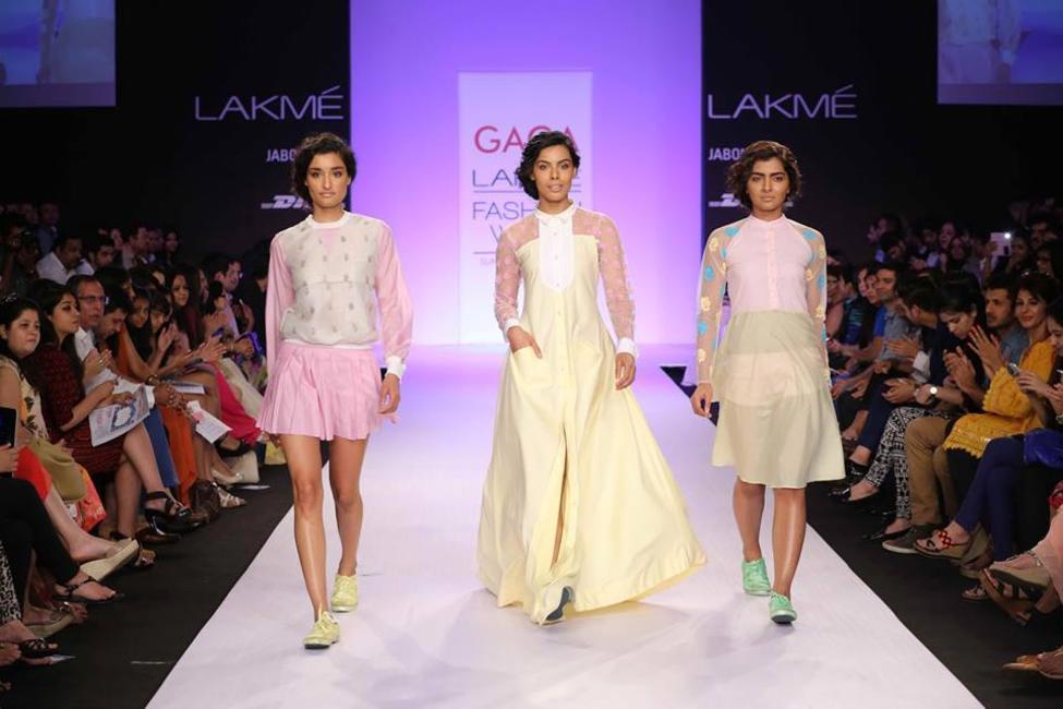 Gaga by Tanya Sharma at Lakme Fashion Week Summer Resort 2014