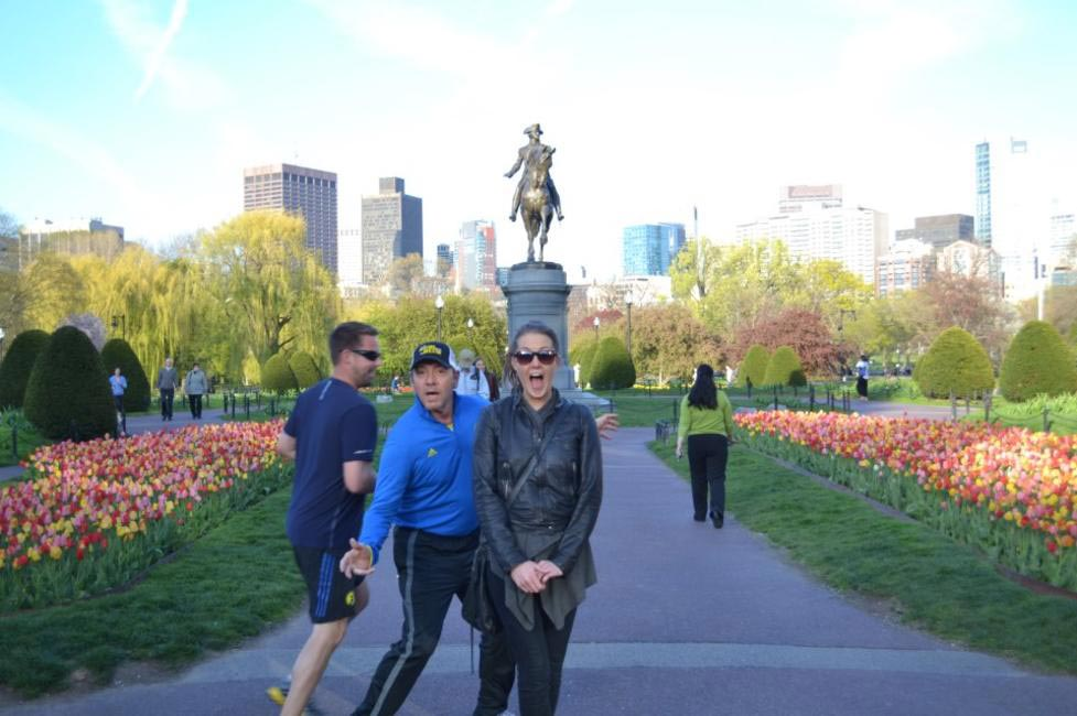 Kevin SPacey Photoboms a tourist in Boston