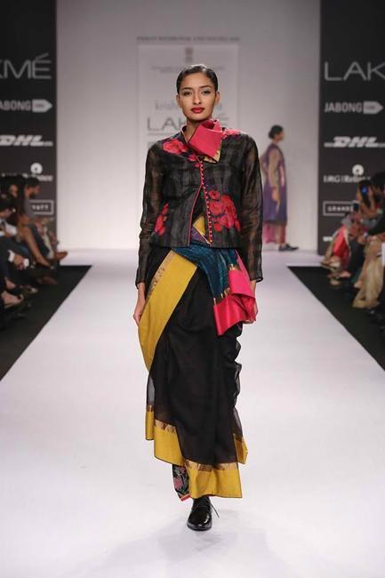 Krishna Mehta at Lakme Fashion Week Summer Resort 2014