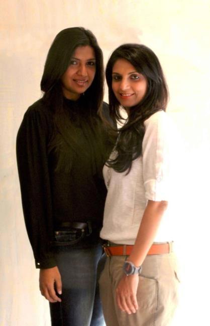 (L to R ) Karishma Swali & Monica Shah of JADE