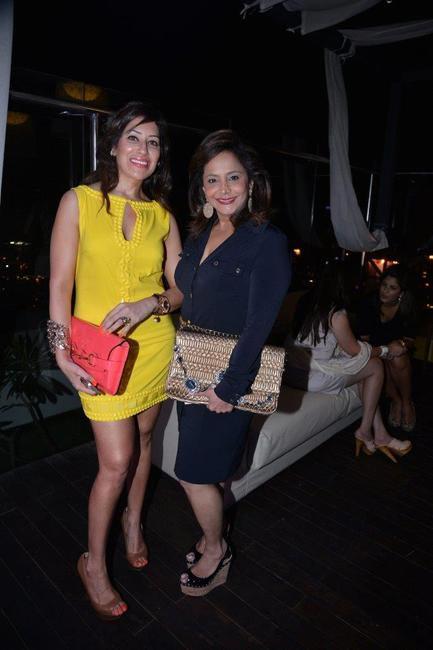 Maheka Mirapuri and Roopa Fabiani