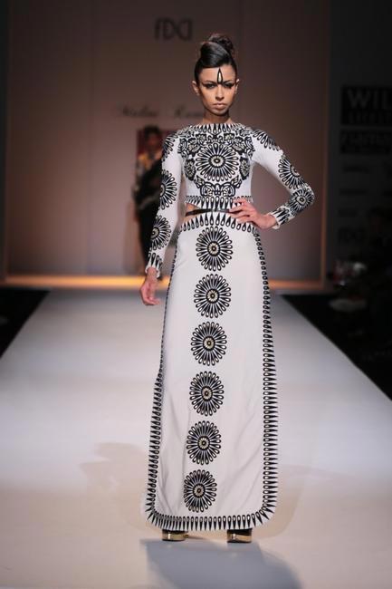 Malini Ramani - - WIFW AW 2014.