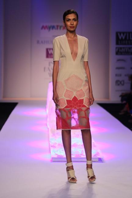 Rahul Mishra- WIFW AW 2014