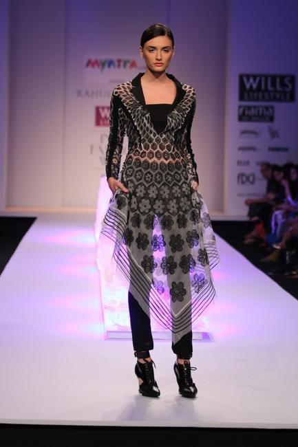 Rahul Mishra - WIFW AW 2014