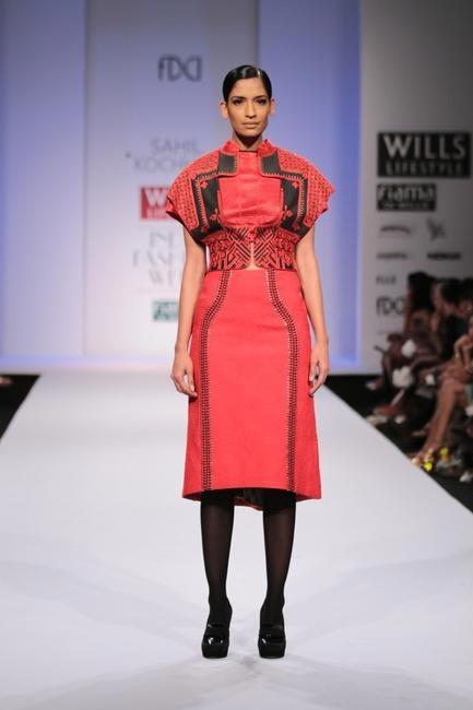 Sahil Kochchar - WIFW AW 2014