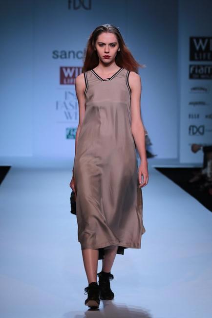 Sanchita at   WIFW AW 2014