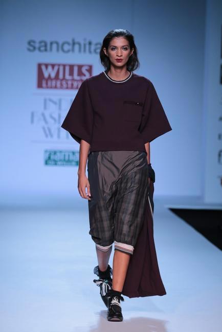 Sanchita  - WIFW AW 2014