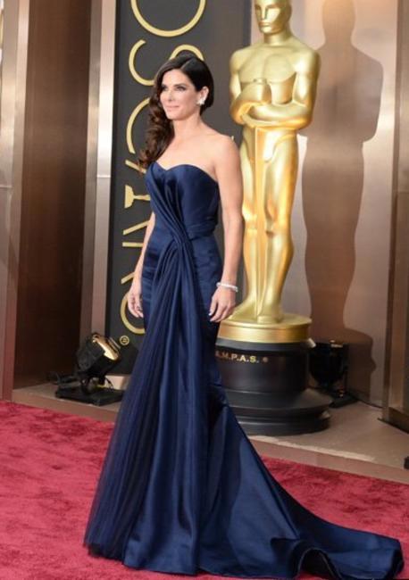 Sandra Bullock in Alexander McQueen- Oscars 2014