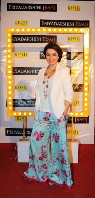 Tisca Chopra at Priyadarshini Rao's Spring Summer Collection Launch at her store