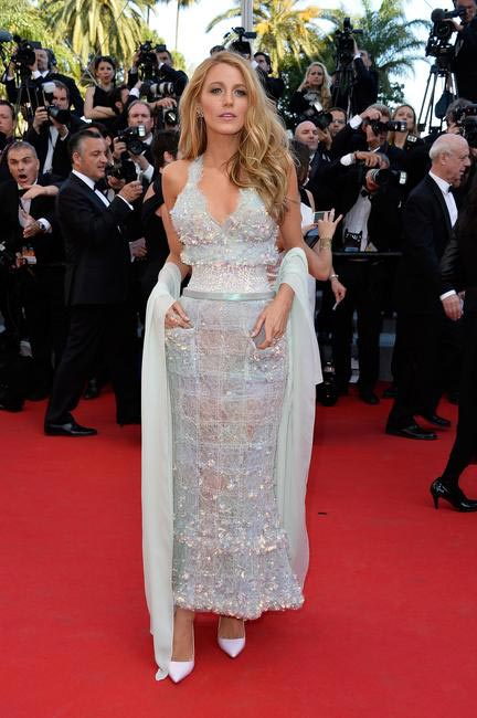 Blake Lively in Chanel on Day 20 of Cannes Film Festival 2014