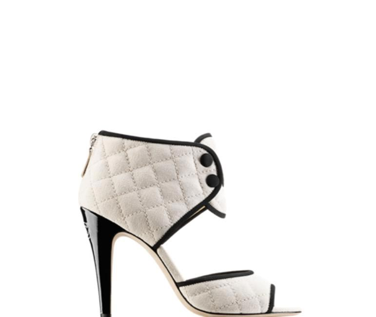 CHANEL Cotton Toile Sandals