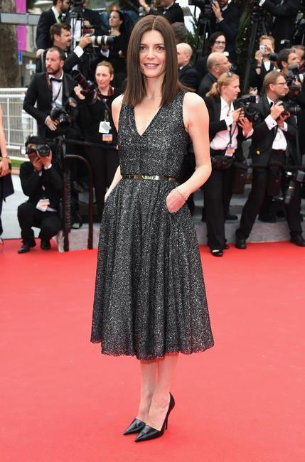 Chiara Mastroianni in Dior