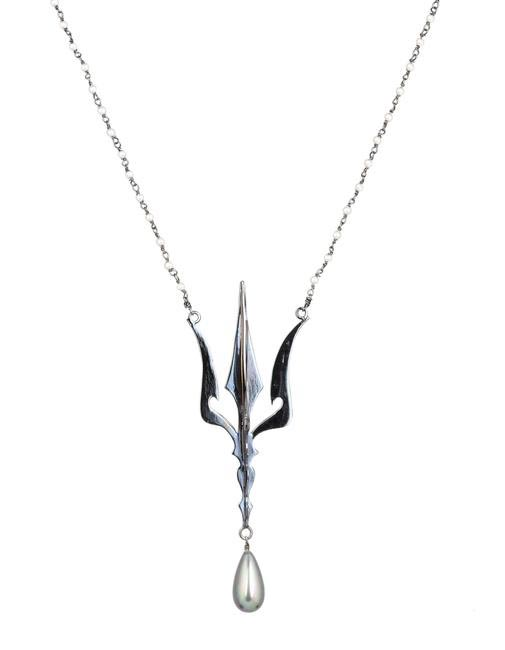 Eina Ahluwalia 3D Trishul Necklace - Dark