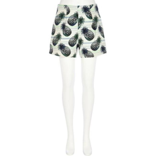 Green Pineapple Print Shorts, River Island, INR 6,000 (Approx)