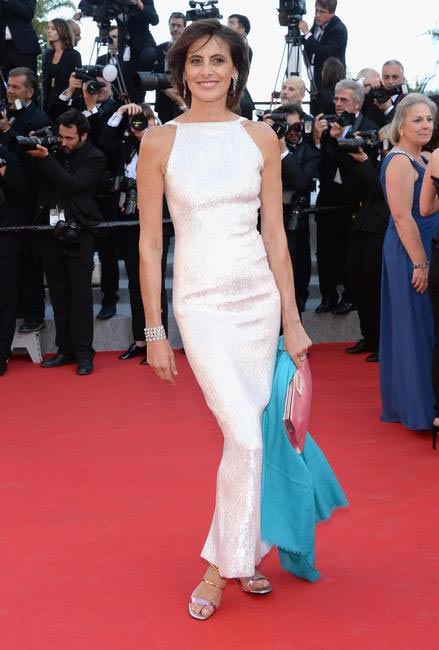 Ines de la Fressange in Chanel at Cannes 2014