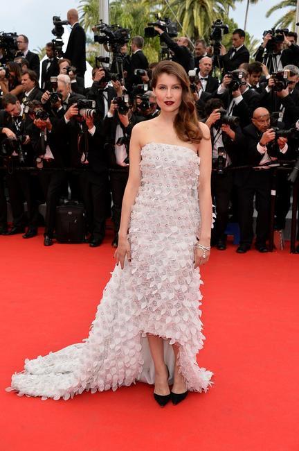 LAETITIA CASTA in Dior for Loreal Paris at Cannes 2014_2