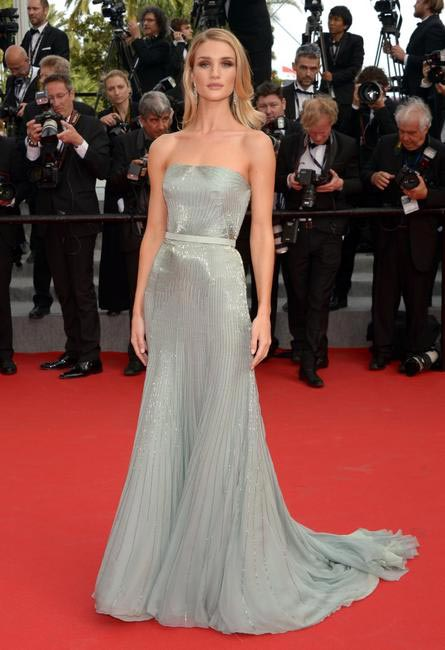 Rosie Huntington Whiteley - in Gucci Premiére. Photo - Getty