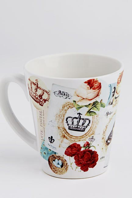 The Provencal Coffee Mug, The White Window