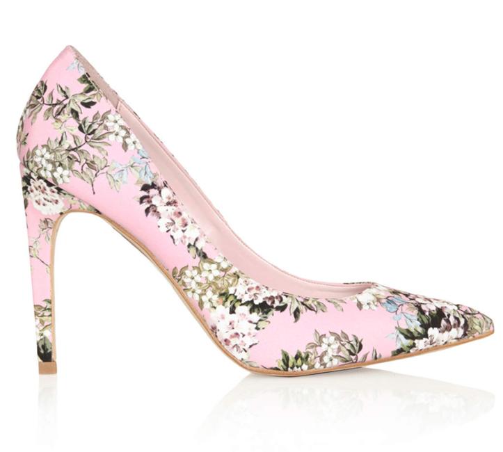 TOPSHOP Glory Floral Heels
