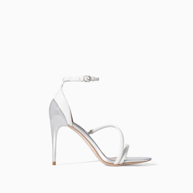 ZARA high heel strappy sandals