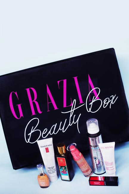 A sneak-peek at some of the fabulous products in the Grazia Beauty Box