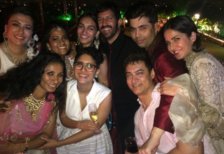 Celeb candids from the Arpita-Aayush wedding