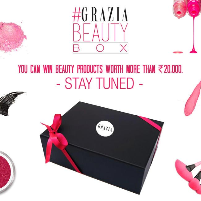 Celebrating Beauty Month with Grazia's Beauty Box