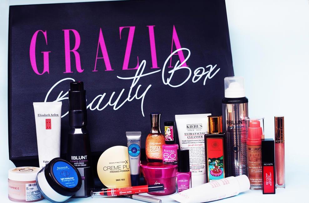 #GraziaBeautyBox Revealed