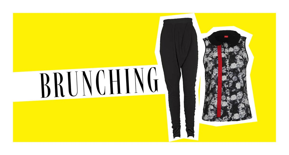 keep it casual when stepping out for brunch with the ladies!