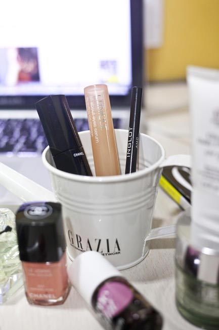 Multi-tasking beauty buys in subtle shades get you through the work day in style