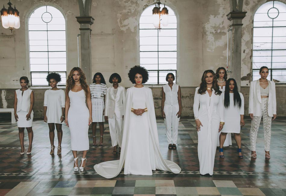 Solange Knowles and her edding party!