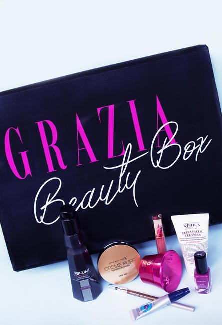 The Second Teaser of the #GraziaBeautyBox
